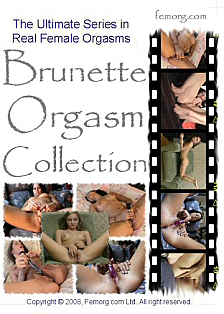 Brunette Orgasm Collection
